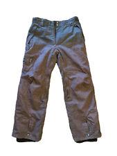 686 Teserved InfiDry Breathable Brown Waterproof Ski Snowboard Pants Mens Medium