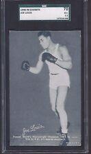 1948-49 Exhibits #26 Joe Louis World Heavy Wt. Champion Boxing Graded 5.5 EX+