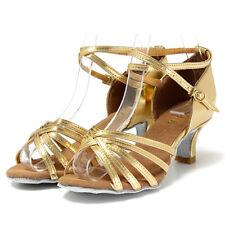 Wuzhongshangpin 1 Pair Women Heel Shoes Salsa Bachata Latin Dance Sandals L G4a7
