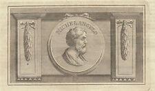 Michelangelo 1847  incisione su rame