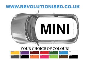 BMW MINI ROOF MINI DECAL / GRAPHICS / STICKER R50 R53 R55 R56 R60 F56