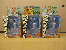 "Futurama 6"" Bender Figure - New Mib 3 Rare variations to Choose from"