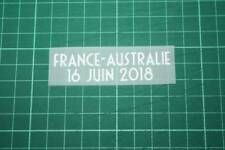 FRANCE World Cup 2018 Home Shirt Match Details FRANCE Vs AUSTRALIE