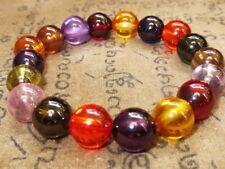 Rare Blessed 10 mm Multi-Color Naga Eye Stone Bracelet Magic Power Buddha Amulet