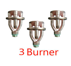 3 X kerosene Stove Burnere Copper Burner For Camping Hiking Burner From India