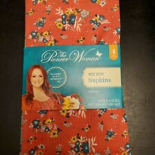 Pioneer Woman Rose Ditsy Cloth Napkin Pack Of 4