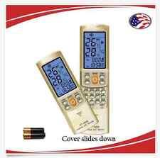 Universal AC A/C Remote- Mcquay,Carrier,Gree,LG,Midea,TCL,Whirlpool,York,Toshiba