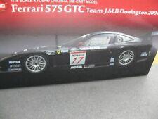1/18 Kyosho Ferrari 575 GTC Team J.M.B Donington 2004 08393