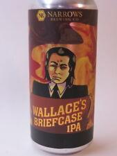 Craft Beer Can ~ NARROWS Brewing Wallace's Briefcase IPA ~ Tacoma, WASHINGTON
