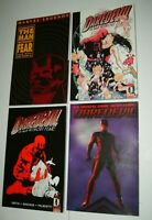 4 DAREDEVIL MAN WITHOUT FEAR TPB LOT MARVEL KNIGHTS MOVIE MILLER SMITH QUESADA