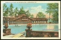 Postcard of Roebuck Club House and Swimming Pool, Birmingham, Alabama