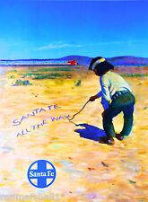 New Mexico by Railroad United States of America Travel Poster Art Advertisement