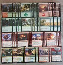 Mazzo DRAGHI Rosso Verde - 60 carte - MTG Magic The Gathering