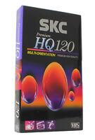 SKC HQ Cassette Video VHS HQ 120  (Réf#K-448)