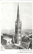 Warwickshire: The Cathedral Church of St Michael, Coventry - B/W- Unposted 1939