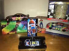 4 Jeff Gordon collectibles Chromalusion Winners Circle diecast 1/24 Stein Pepsi
