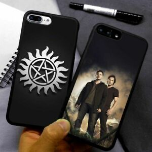 Supernatural Twin Peaks Silicone Phone Case Cover For iPhone Samsung Galaxy
