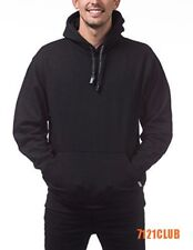 PRO CLUB PULLOVER HOODIE ProClub Men's Heavyweight Plain Hooded Sweatshirt S-7XL