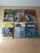 Random House Landmark Books Lot of 6 Vintage