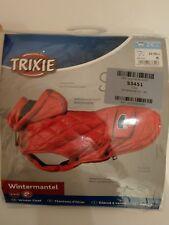 TRIXIE Wintermantel Sila rot Hunde-Mantel Hundemantel mit Kapuze Grö�Ÿe 22-28cm