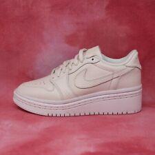 Woman's Nike Air Jordan Retro 1 Low Lifted Wedge Heel Phantom White Size 8 RARE!
