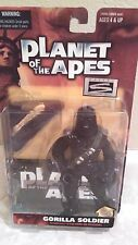 Planet Of The Apes Gorilla Soldier Action Figure 7 Inch Tall 1999 By Hasbro
