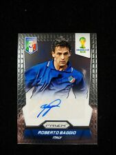 2014 World Cup Prizm Roberto Baggio Auto Card #S-RB COMBINED SHIPPING