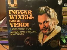 SEALED  INGVAR WIXELL SINGS VERDI 8 ARIAS FOR BARITONE  DRESDEN STATE ORCHESTRA