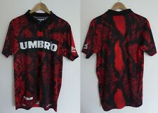 Umbro X House Of Holland Red Snakeskin Shirt Small BNWT