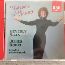 BEVERLY SILLS: Welcome to Vienna / Rudel (US CD EMI Classics CDM 64424 / NM)