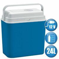 LEX elektrische Kühlbox 24 L Reise Camping Mini Kühlschrank 12 Volt Auto LKW Car
