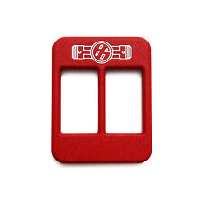 MTEC INDUSTRIES - 86 PISTON CENTER CONSOLE HEATER PLAQUES (RED)