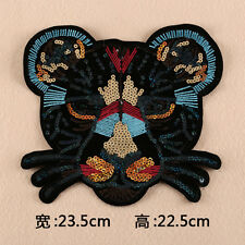 Large Leopard Patch Embroidered Applique Clothing Decoration Sew On Patches