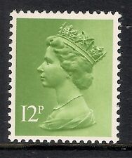 GB 1980 sg X943 12p Yellowish Green photogravure phosphorised paper MNH
