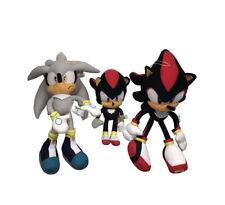 Sonic the Hedgehog plush lot Of 3