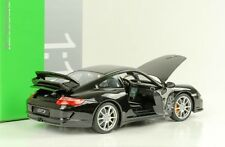 2008 PORSCHE 911 997 gt3 BLACK NERO 1:18 Welly