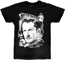 Vincent Price Nevermore Black Unisex Adult Short Sleeve Tee Shirt (Small) [New ]