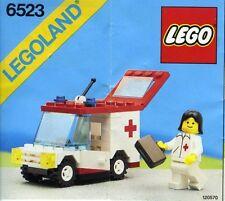 NEW Lego Classic Town 6523 RED CROSS Hospital LEGOLAND 1987'