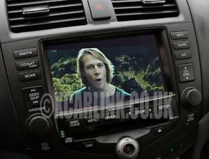 Honda Accord SatNav Multimedia Rear Reverse Camera Interface Adapter 2002-2008