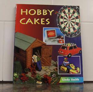 Hobby Cakes - Lindy Smith  Cake decorating creation Shed Dartboard Car Fishing