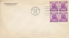 US Cover - FDC Sc # 837 (4)  - Northwest Territory Sesquicentennial  - US 8104