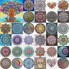 5D Diy Special Shaped Diamond Painting Kits Circular Pattern Cross Stitch Mosaic