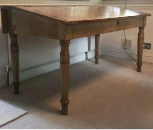 Antique Pine Clerks Desk