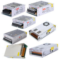 DC 12V 5A 10A 15A 20A 30A 50A Regulated Transformer Power Supply For LED Strip