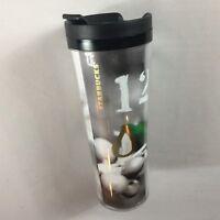 Starbucks Tumbler Coffee Mug 2012 Travel Cup 16oz Numbers Berries USA Made Drink