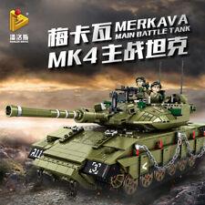Panlos632009 Bauklötze Merkava MK4 Hauptschlacht Militär Tank Modell 1730PCS OVP
