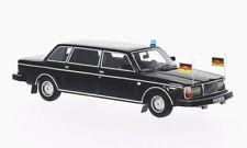 wonderful modelcar VOLVO 264TE LWB STATE LIMOUSINE GDR (DDR) 1978 - black - 1/43