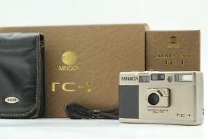 [Mint In Box] Minolta TC-1 35mm Point & Shoot Film Camera Body From JAPAN
