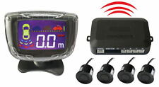 New PZ500-W Wireless LCD Parking Sensor Kit 4 Sensors Car Reversing Radar System