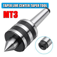 MT3 Live Center Morse Taper 3MT Triple Bearing Lathe Medium Duty CNC